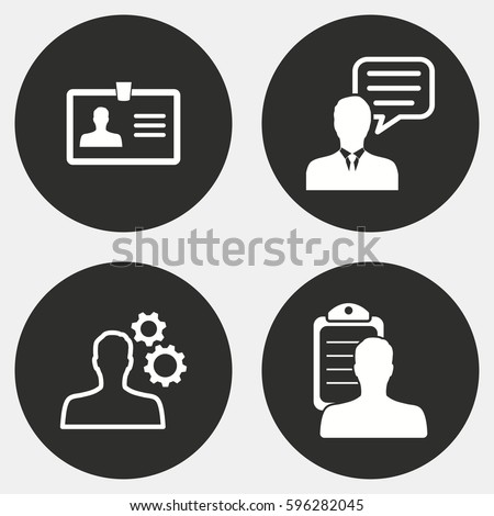Consulting icon stock images royalty free images for Graphic design consultant