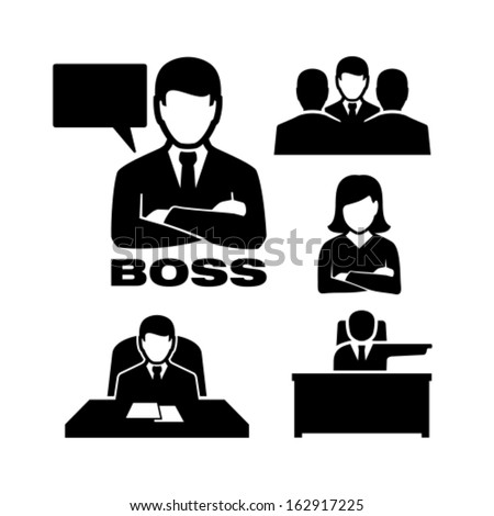 Manager - stock vector