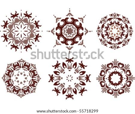 Mandala ornamental - stock vector