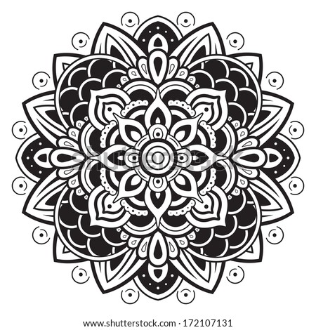 Mandala Pattern - stock vector