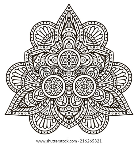 Mandalas Coloring Pages App