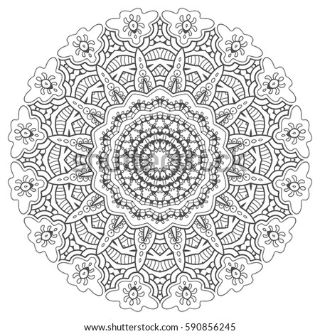 Geometric Art Coloring Book : Art therapy stock images royalty free & vectors shutterstock
