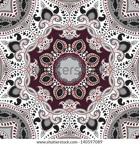 Mandala. Vector ethnic pattern, decorative background. - stock vector