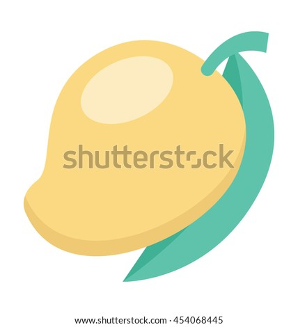 Mango Vector Icon