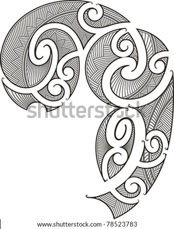 maori warrior free coloring pages. Black Bedroom Furniture Sets. Home Design Ideas