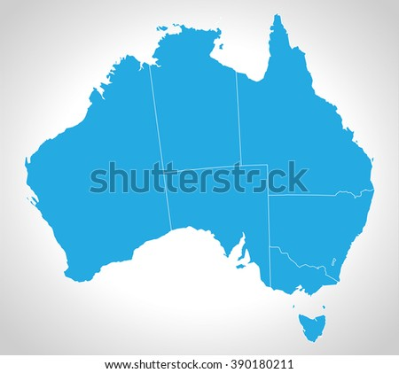 Queensland Australia Map Stock Images RoyaltyFree Images - Map australia queensland