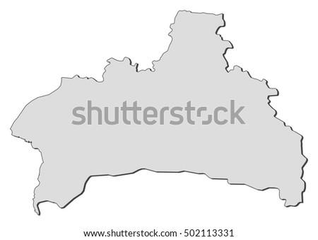 Map Brest Belarus Stock Photo Photo Vector Illustration