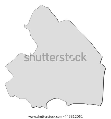 Map Drenthe Netherlands Stock Vector 444759646 Shutterstock