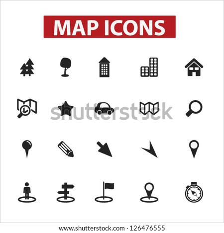 Map Icon Stock Images, Royalty-Free Images & Vectors | Shutterstock