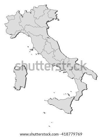 Map - Italy