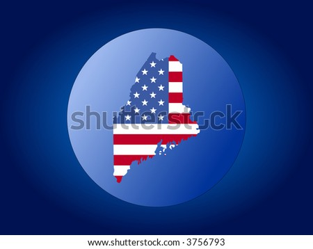 Map Texas American Flag Globe Illustration Stock Vector - Globe of usa