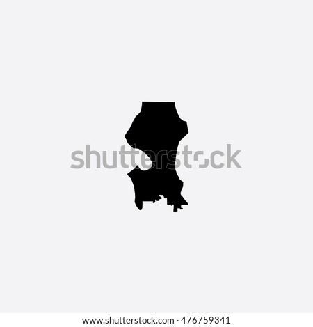 Seattle Map Stock Images RoyaltyFree Images Vectors Shutterstock