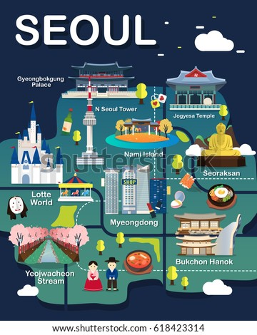 Map Seoul Attractions ...
