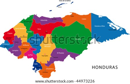 Honduran Honduras Map Stock Images RoyaltyFree Images Vectors - Hondurus map