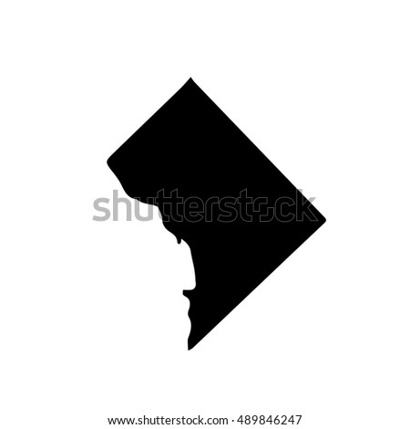 Map Of The U S District Of Columbia