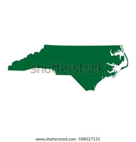 North Carolina Map Stock Images RoyaltyFree Images Vectors - Carolina map us