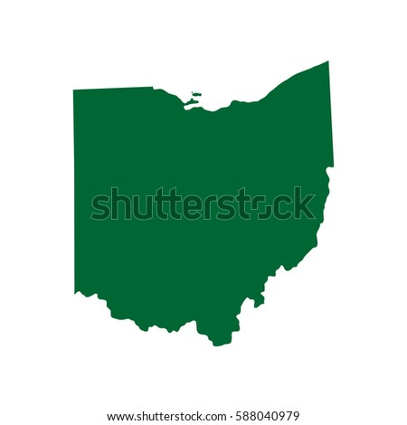 Ohio Map Stock Images RoyaltyFree Images Vectors Shutterstock - Ohio on us map
