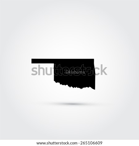 Oklahoma Map Stock Images RoyaltyFree Images Vectors - Oklahoma map us