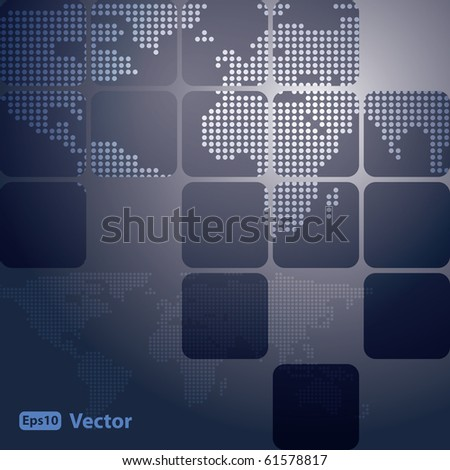 Map Vector Background