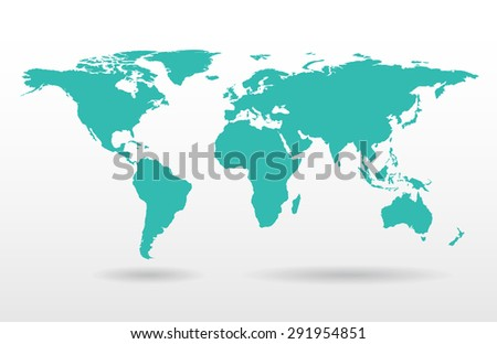 Map vector illustration - stock vector