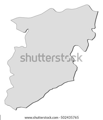 Map Oerebro County Sweden Stock Vector Shutterstock - Portugal map viseu