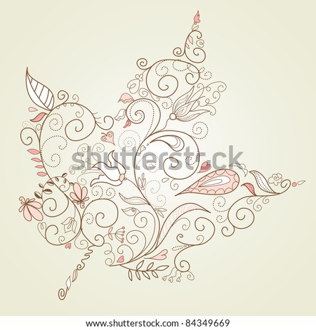 Maple Leaf - stock vector