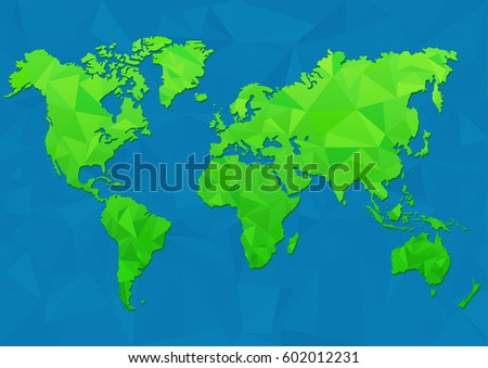 Maps earth world map low poly stock vector 602012231 shutterstock maps of the earth world map low poly vector illustration gumiabroncs Images