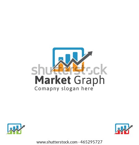 Marketing graph logo stock vector hd royalty free 465295727 marketing graph logo altavistaventures Choice Image
