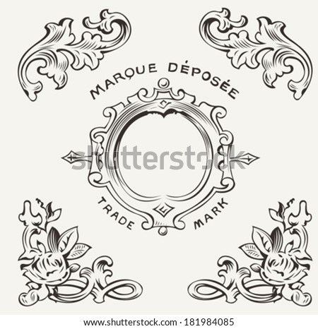 Marquee Depose Vintage Quality Sign - stock vector