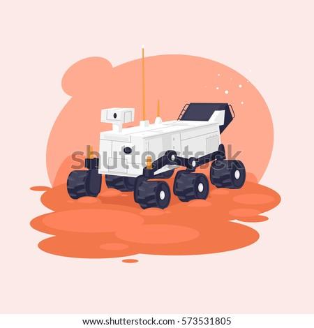 mars rover vector - photo #5