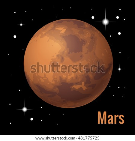 """a description of mars a planet in the solar system named for the roman god of war Mars is the fourth planet from the sun and the second smallest planet in the solar  system named after the roman god of war, it is often described as the """"red."""