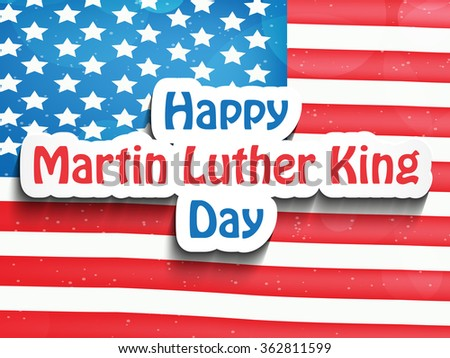 Martin Luther King, Jr. Day background