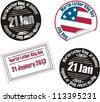 Martin Luther King Jr. Day stamp - stock photo