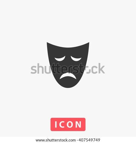 mask Icon. mask Icon Vector. mask Icon Art. mask Icon eps. mask Icon Image. mask Icon logo. mask Icon Sign. mask Icon Flat. mask Icon design. mask icon app. mask icon UI. mask icon web. mask icon grey - stock vector