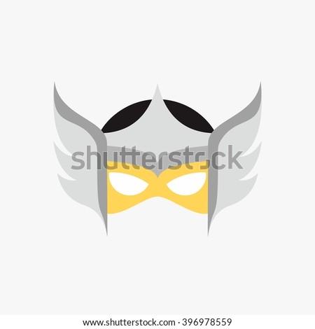 supergirl mask template 3765193