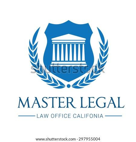 Master Legal, Law Firm Logo Template