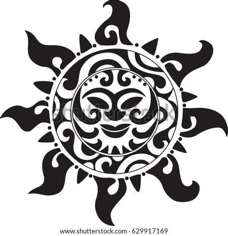 set ethnic tattoos floral elements stock vector 98503187 shutterstock. Black Bedroom Furniture Sets. Home Design Ideas