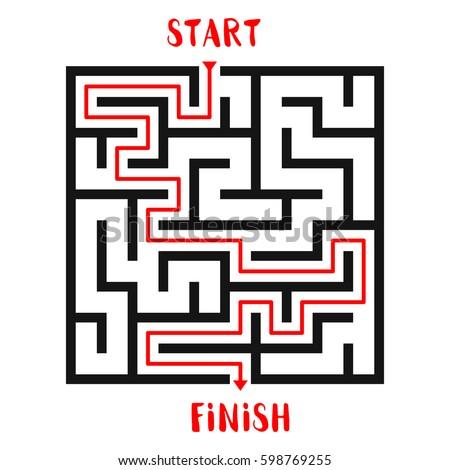 Maze game template 5239414 - hitori49.info