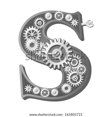 Vector Hand Drawn Sketch Fonts Original Stock Vector