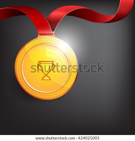 Medal for the winner, can be used as an icon for the site.