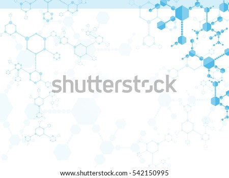 Medical Abstract Science background Illustrations