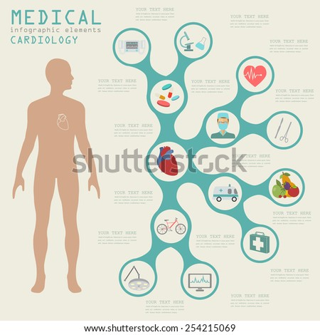 Medical Healthcare Infographic Brain Infographics Vector Stock ...