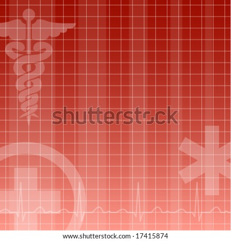 medical background - stock vector