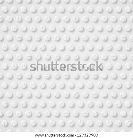 Medical background with pills. Eps 10 - stock vector
