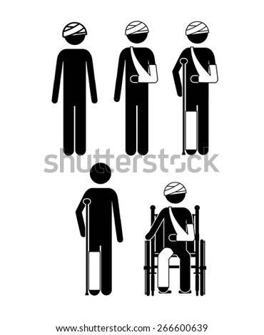 Medical care design over white background, vector illustration