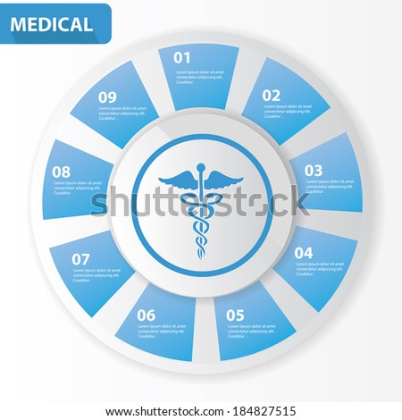 Medical Chart,Vector - stock vector