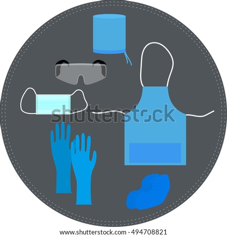 medical clothing and accessories for working