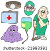 Medical collection 2 - vector illustration. - stock vector