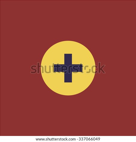 Medical cross. Icon Vector. Icon Picture. Icon Graphic. Icon Art. Icon JPG. Icon JPEG. Icon EPS. Icon AI. Icon FLAT. Icon SIMPLE - stock vector