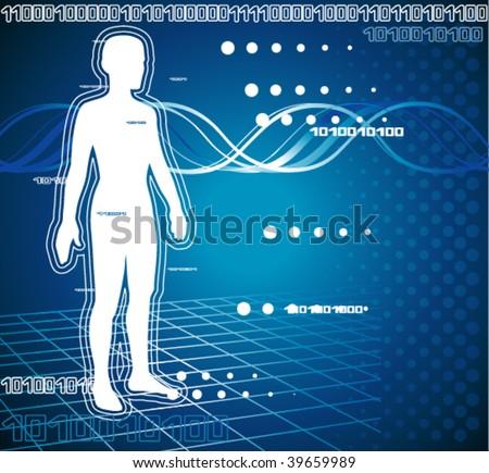 Medical diagnostics - stock vector